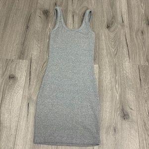 Fashion Nova gray mini dress
